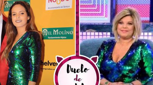 El nuevo vestido viral de Zara enfrenta a Terelu Campos con Gloria Camila. ¿A quién le queda mejor?