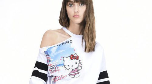 Encaje, pedrería y lentejuelas en la colección que Hello Kitty protagoniza para Pinko