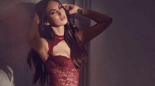 Megan Fox lanza su nueva línea de lencería para San Valentín 2018