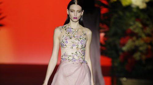 Hannibal Laguna presenta su colección oriental en la Madrid Fashion Week
