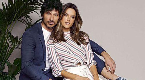 Alessandra Ambrosio y Andrés Velencoso vuelven a ser imagen Xti para primavera/verano 2018