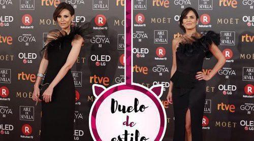 Elena Ballesteros y Elena Sánchez, un look parecido en la misma alfombra roja
