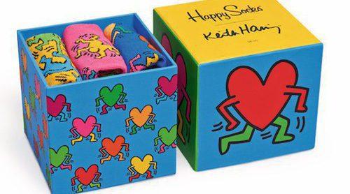 Happy Socks y su divertida colección primavera/verano 2018 con la fundación Keith Haring