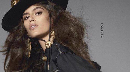 Kaia Gerber y Karl Lagerfeld trabajando en un mismo proyecto de moda