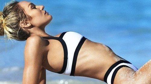 Así es TropicofC, la nueva línea de bikinis de Candice Swanepowel
