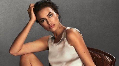 Irina Shayk posa por primera vez para Intimissimi después de dar a luz