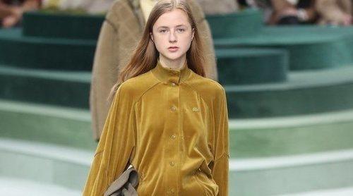 La mezcla de estilos y géneros de Lacoste para otoño/invierno 2018/2019 en la Paris Fashion Week