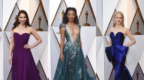 Ashley Judd, Betty Gabriel y Nicole Kidman, entre las mejor vestidas de los Premios Oscar 2018