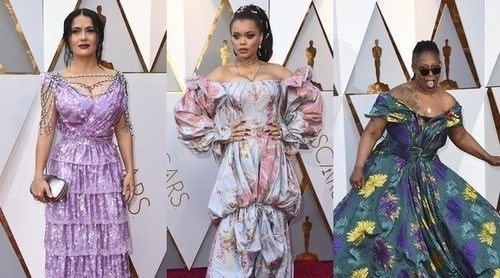 Salma Hayek, Andra Day y Whoopi Goldberg entre las peor vestidas de los Premios Oscar 2018