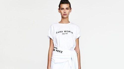 Zara lanza una colección cápsula en el que su logo es el centro de todas las miradas