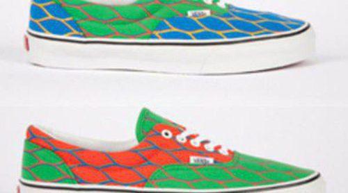 Vans y Kenzo, unidas para crear una colección de zapatillas para este verano 2012