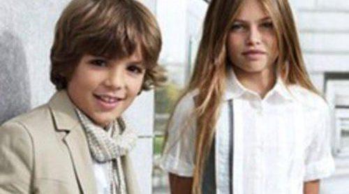 Elegancia y pinceladas de color en la colección verano 2012 de Boss niños