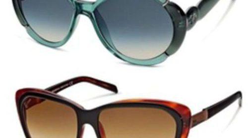 Monturas de gran tamaño en las gafas de sol verano 2012 de John Galliano