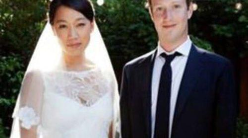 Los detalles del vestido de novia de Priscila Chan, la mujer de Mark Zuckerberg