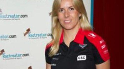 La piloto de Fórmula Uno María de Villota es imagen de la joyería Durán