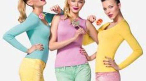 Realza tus curvas con la nueva colección de Benetton 'Pin Up' verano 2012