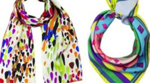 Rayas, cuadros y corazones en la nueva colección de pañuelos Codello para este verano 2012