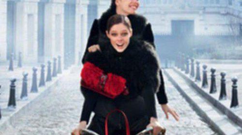 Coco Rocha y Emily DiDonato juntas en la nueva campaña de 'Longchamp'
