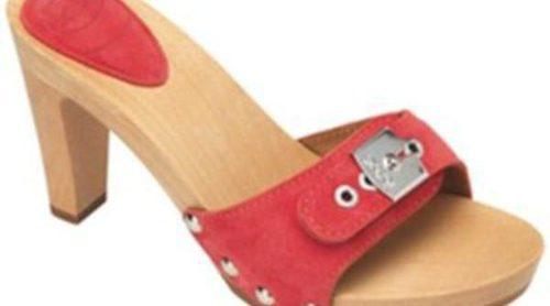 Sandalias y zuecos de madera en la nueva colección de Scholl para este verano 2012