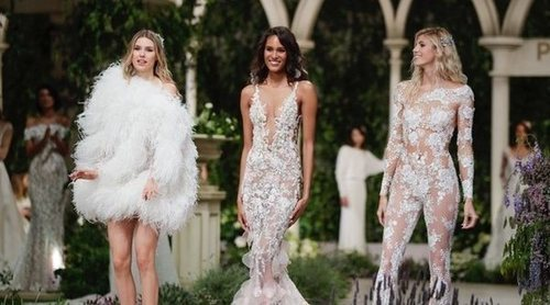 Pronovias presenta una colección de ensueño en la Barcelona Bridal Fashion Week 2018