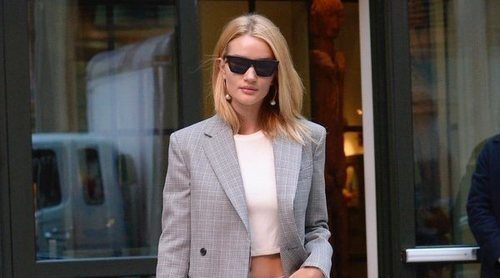 El look de tendencia de Rosie Huntington-Whiteley convertido en low cost. ¡Atrévete a copiarlo!