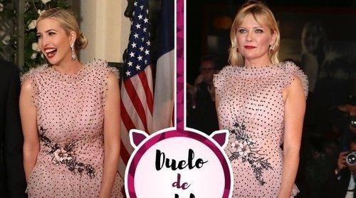 Ivanka Trump y Kirsten Dunst apuestan por el mismo vestido de Rodarte. ¿A quién le sienta mejor?