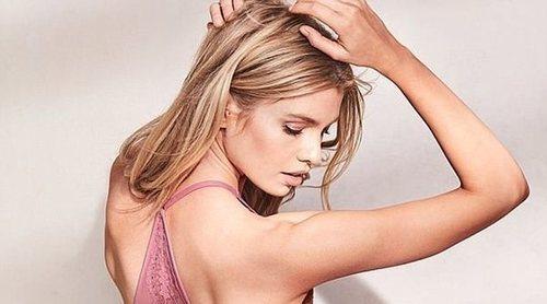 Stella Maxwel, protagonista de la sensual campaña de Victoria's Secret