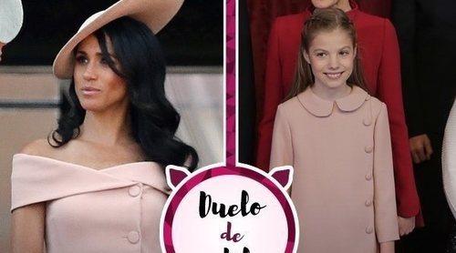 Meghan Markle, la Infanta Sofía y un look casi idéntico de Carolina Herrera. ¿Quién lo ha lucido mejor?