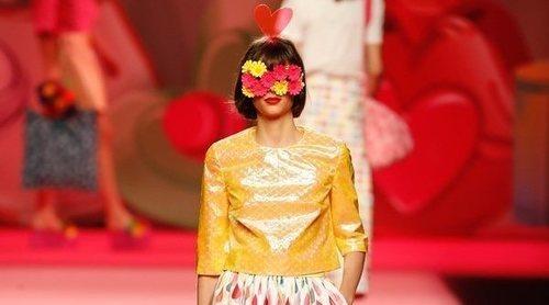 Ágatha Ruiz de la Prada tiñe la Madrid Fashion Week de color con su colección primavera/verano 2019