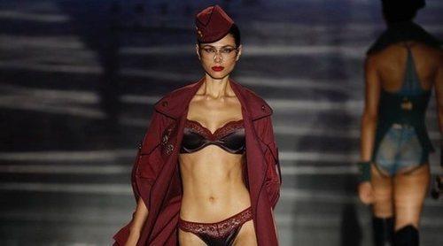 La lencería de Andrés Sardá llena de sensualidad la pasarela de la Madrid Fashion Week primavera/verano 2019