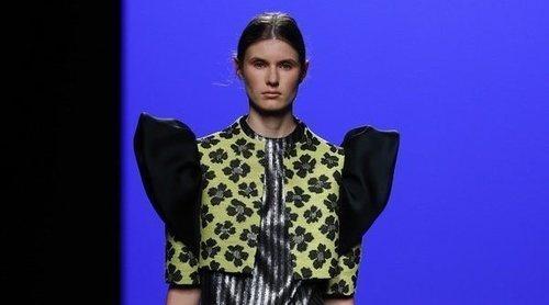 La delicadeza y sutileza protagonizan el desfile de Devota&Lomba en la Madrid Fashion Week 2019