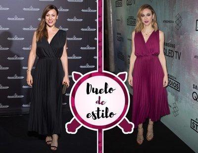 Natalia Vebeke y Marta Hazas: dos actrices enfrentadas por el mismo vestido de Guess