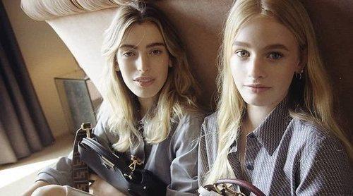 Fendi ficha a las hijas de Ewan MacGregor para su nueva campaña