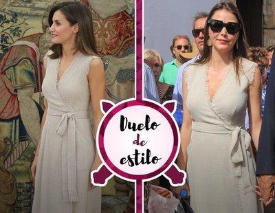 La Reina Letizia y Esther Doña se decantan por el mismo Adolfo Domínguez. ¿A quién le sienta mejor?