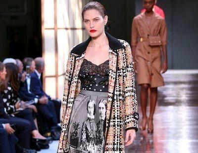Burberry homenajea a su nuevo logo con su primavera/verano 2019 en la London Fashion Week