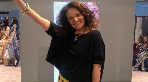 Diane Von Furstenberg rechaza el uso de piel animal en sus próximas colecciones