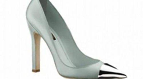 Zapatos con un toque especial, la punta metalizada