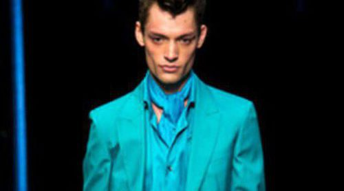 Roberto Cavalli metaliza la Semana de la Moda masculina de Milán