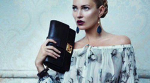 Kate Moss, protagonista de la nueva campaña de Ferragamo