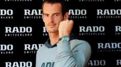 Andy Murray es el nuevo embajador de la firma de relojes Rado
