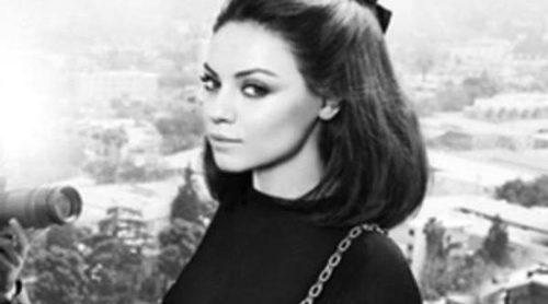 Mila Kunis, toda una diva en la nueva campaña de Dior