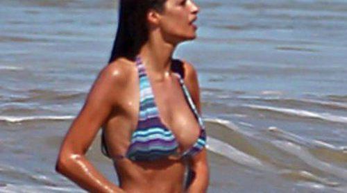 Sara Carbonero, un icono de estilo también en la playa