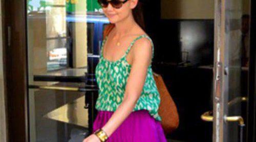 Las celebrities se apuntan a la moda de las maxifaldas