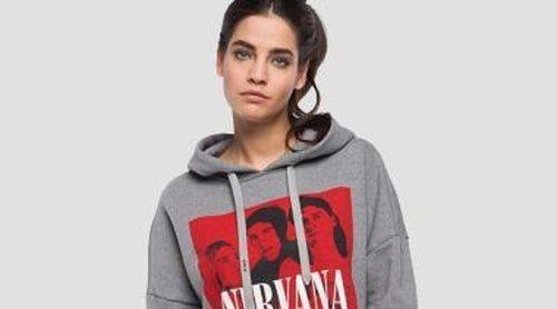 Replay rinde tributo a Nirvana con una colección cápsula de sudaderas y camisetas