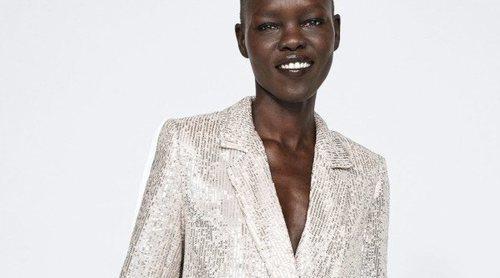 Las lentejuelas han sido las mejores aliadas de Zara en esta temporada