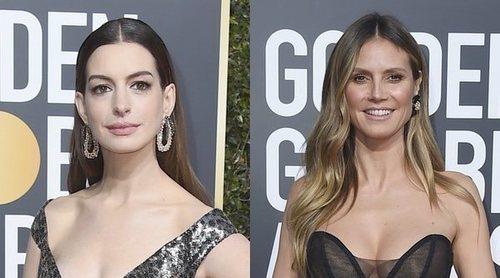 Heidi Klum, Anne Hathaway y Emily Blunt, las peor vestidas de los Globos de Oro 2019