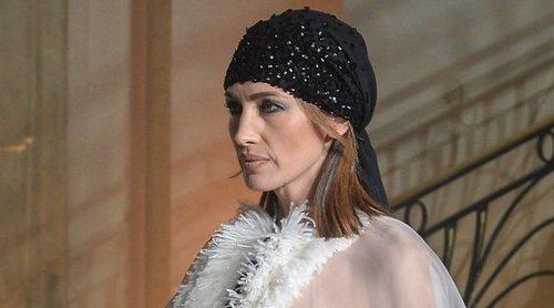 Nieves Álvarez sorprende en la pasarela de Stephane Rolland en París