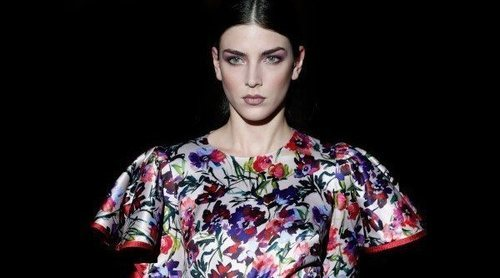 Hannibal Laguna apuesta por la sensualidad femenina en la Madrid Fashion Week 2019