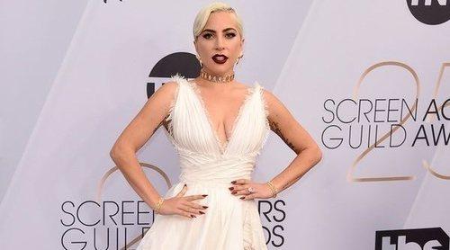Lady Gaga deslumbra con un vestido de Dior Alta Costura en los SAG Awards 2019