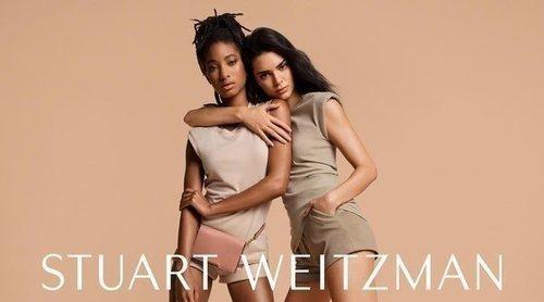 Kendall Jenner y Willow Smith, imagen de la nueva colección de Stuart Weitzman